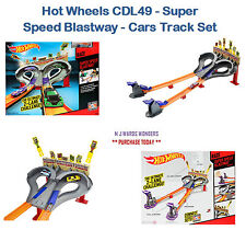 HOT WHEELS cdl49-Super Speed blastway-AUTO TRACK SET