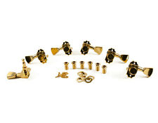 KLUSON REVOLUTION G-MOUNT DIECAST TUNERS 3+3 Gold fits Gibson KED-3801G