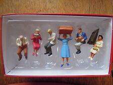 Preiser 65368 Spur O sitzende Reisende 6 Figuren