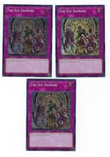 3X The Six Shinobi -SPWA-EN008- -NM- -Super Rare- Yugioh Spirit Warriors