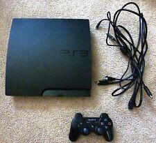 Sony PlayStation 3 Slim 160 GB Charcoal Black Console (NTSC - CECH-3001A)