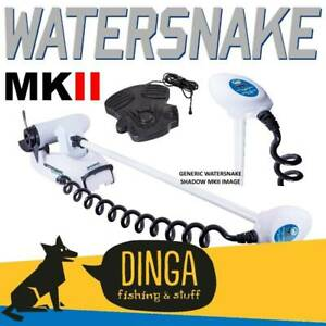 "Watersnake Shadow MKII 65lb 54"" Shaft Bow Mount Electric Motor"