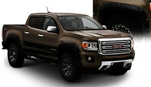 Front and Rear Fender Flares For 2015-2018 GMC Canyon 2016 2017 Bushwacker