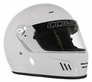 Conquer Snell SA2015 Approved Full Face Auto Racing Helmet - Small