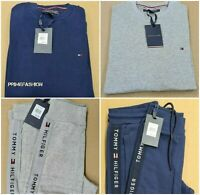 MENS TOMMY HILFIGER SWEATSHIRT//JOGGERS TAPE LOGO HUGE OFFER