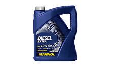 5l MANNOL SAE 10w-40 DIESEL EXTRA 7504 Autres contenances disponibles 10l 20l .