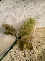 Vintage Grapes Germany Hats Cloche Millinery Berries Hat Embellishments Trims