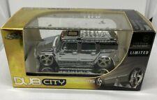 Jada Toys Dub City Kustoms Hummer H2 1:64 Scale Die Cast Metal Limited
