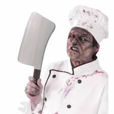 géant gris zombie Chef boucher Cleaver Déguisement Halloween accessoire de