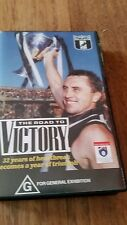 THE ROAD TO VICTORY MAGPIES COLLINGWOOD FOOTBALL CLUB - AFL VFL VHS VIDEO