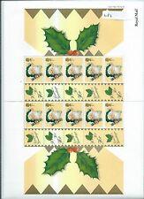 wbc. - GB -  LS03 - SMILER SHEET - CHRISTMAS - 1st - CRACKER - unm.  mint