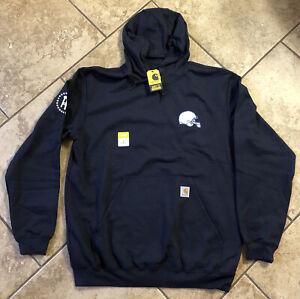 New Penn State Barstool Sports Sweatshirt Hoodie Large Carhartt PSU
