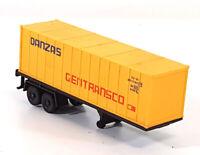 Lima HO OO Danzas Gentransco Truck Trailer Container Vintage c1970s 278CA