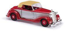 BUSCH 40528 Escala H0 MB 170S Cabrio cerrada Bi-color, Rojo # en #