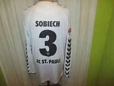 FC St.Pauli hummel Auswärts Langarm Matchworn Trikot 14/15 + Nr.3 Sobiech Gr.XL