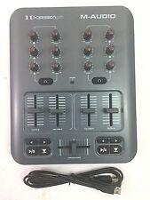 M-Audio X-Session Pro DJ Midi Mixer Controller