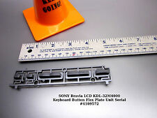 SONY Bravia LCD KDL-32M4000 Keyboard Button Flex Plate Unit Serial #4109572
