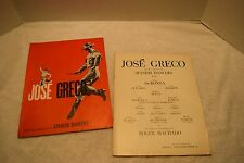 Vintage Jose Greco Souvenir Program