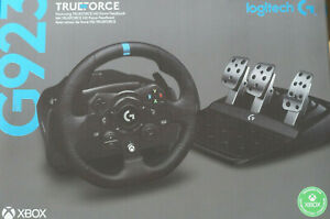 Logitech G923 Trueforce Lenkrad und Pedale für Xbox
