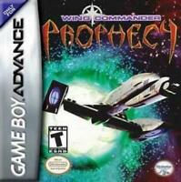 Wing Commander Prophecy Game Boy Advance Game Used
