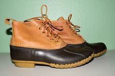 """LL Bean Boots Duck 6"""" Women 9 M"""