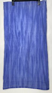The Company Store Twin Flat Sheet ONLY Cornflower Blue Percale Cotton