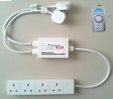 3KW CONTACTOR RELAY LIGHTING CONTROL BOX with TIMER for hydroponic grow tent etc