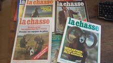 La revue nationale de la chasse 1979  année complète 12 revues
