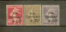 """FRANCE STAMP TIMBRE N°266/68 """"CAISSE AMORTISSEMENT 4ème SERIE 1930"""" NEUFS xx TTB"""