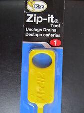Zip-It Unclog Drains Sink Tub Drain Opener Cleaner #412BL   NEW