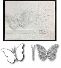 Butterfly Metal die BUNDLE - Swirl & Darla Butterflies Memory Box Cutting Dies