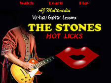 Custom Guitar Lessons, Learn Rolling Stones - Dvd Video