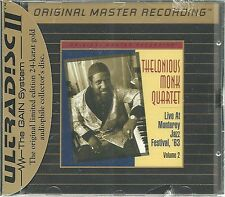 Monk, THELONIOUS Live at the Monterey Jazz Festival,'63 vol.2 MFSL ORO CD NUOVO