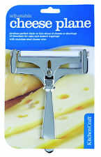 Kitchencraft filo di Acciaio Inossidabile regolabile spessore FORMAGGIO AEREO /