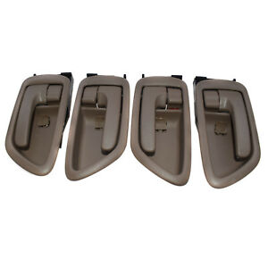 New Inside Door Handles Left+Right Beige set of 4 For Toyota Tundra 692050C030B0