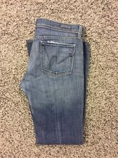 Citizens of Humanity Ingrid #002 Low Rise Flare Bue Denim Jeans Womens 29 X 32