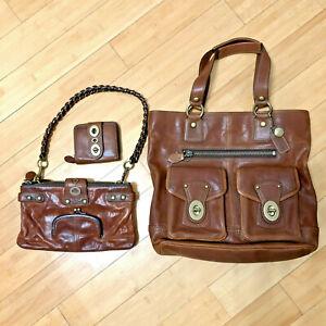 Set of Coach Vachetta Leather Purses Wallet – 65th Anniversary 41150 11622 11131