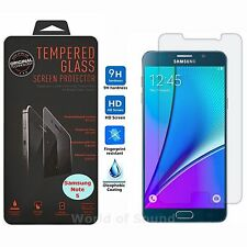 Premium HD Clear Tempered Glass Screen Protector for Samsung Galaxy Note 5