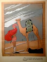 ART DECO ILLUSTRATION BY FRENCH ARTIST ROBERT POLACK PARIS 1928