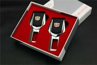 2x Seat Belt Control Buckle Clasp Insert Plug Eliminate Stop Alarm Fit Cadillac
