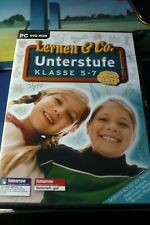 Lernen & Co.--Unterstufe--Klasse 5-7--Lernsoftware---PC DVD-ROM
