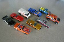 Vintage Lot (9) early 1980's Hot Wheel Diecast Toy Cars