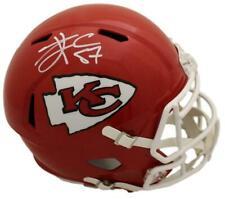Travis Kelce Autographed Kansas City Chiefs Replica Speed Helmet Bas 22486