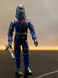 GI joe Cobra commander hooded mail away complet hasbro vintage