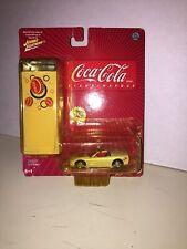 JOHNNY LIGHTNING Coca Cola 1:64 1998 CORVETTE DIECAST #3 - W/TIN -W/Package
