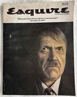 ESQUIRE Magazine ~ May 1965 ~ Hitler Nazi ~ Arnold Palmer ~ GTO Car Ad ~ 172 Pgs