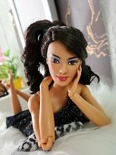 💕Barbie Made to Move Articulated OOAK HYBRID Mexico Hispanic Brunette 1/6 Doll