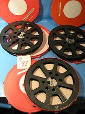 16 mm Film 3 Stück Filmspulen 300 Meter-Winkel mit Filmdose -Nr.D.33-Film spool
