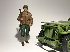 USA ARMY SOLDIER RIFLEMAN WW11 1/18 9.5cm Scale Model Diecast Toy Car war