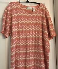 Alfred Dunner, pullover sweater S/S, size 2 X